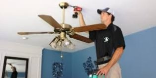 Installation of ceiling fan Hallandale Beach Florida